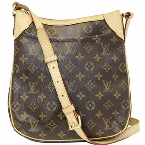 LOUIS VUITTON Odeon  Monogram Canvas Crossbody Bag